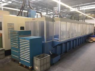 Fréza Mazak Variaxis 500 5X - Production line 2 machines / 14 pallets, r.v.  2005-5