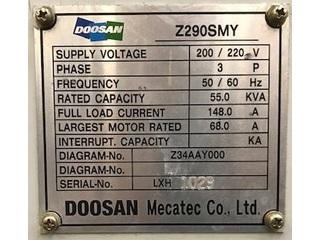 Soustruh Doosan Z 290 SMY-5