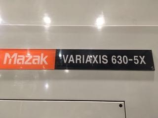 Fréza Mazak Variaxis 630 5X, r.v.  2003-8