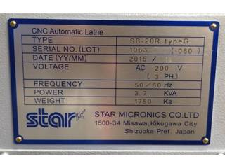 Soustruh Star SB 20 R type G-6