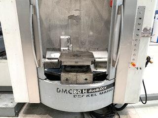 Fréza DMG DMC 80 H doubock-8