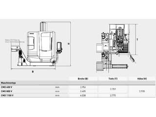 Fréza DMG MORI ecoMill 1100 V, r.v.  2015-6