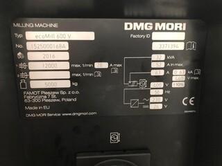 Fréza DMG Mori ecoMill 600V, r.v.  2016-3