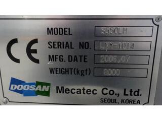 Soustruh Doosan S 550 LM-9