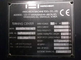 Soustruh Hwacheon Hi Tech 700 MC-8