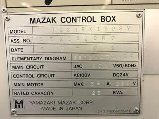 Soustruh Mazak Integrex 100 SY-II-7