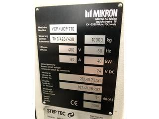 Fréza Mikron UCP 710-11