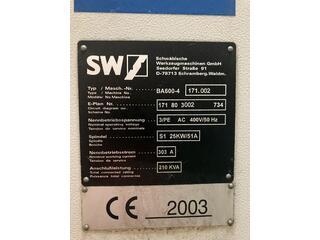 Fréza SW BA 600 - 4-1