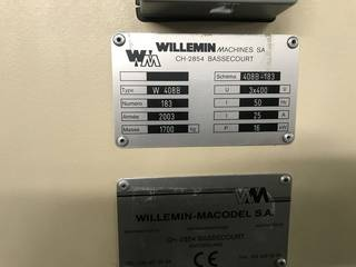 Fréza Willemin-Macodel W 408 B-13