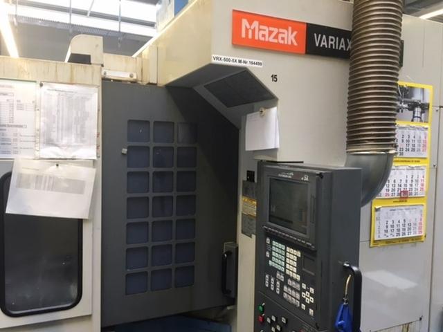 více obrázků Fréza Mazak Variaxis 500 5X - Production line 2 machines / 14 pallets, r.v.  2005