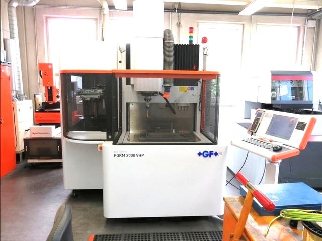 více obrázků Agie Charmille Form 2000 VHP EDM stroj