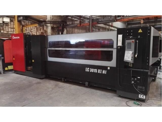 více obrázků Amada LC 3015 X1 NT 4000 W Laserové vyřezávací systémy