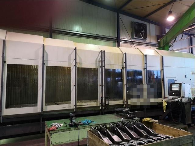 více obrázků Fréza Axa VHC 3 - 5000 XTS 50, r.v.  2006