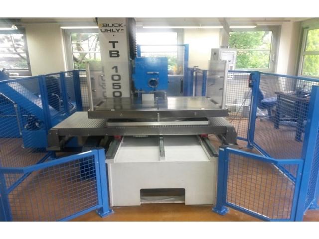 více obrázků Buck-Uhly TB 1050 CNC Hluboké vrtání stroje