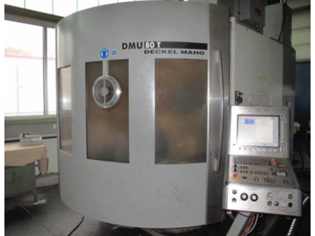 více obrázků Fréza DMG DMU 80 T Turbinenschaufeln/fanblades