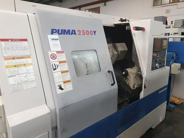 více obrázků Soustruh Doosan Puma 2500 Y