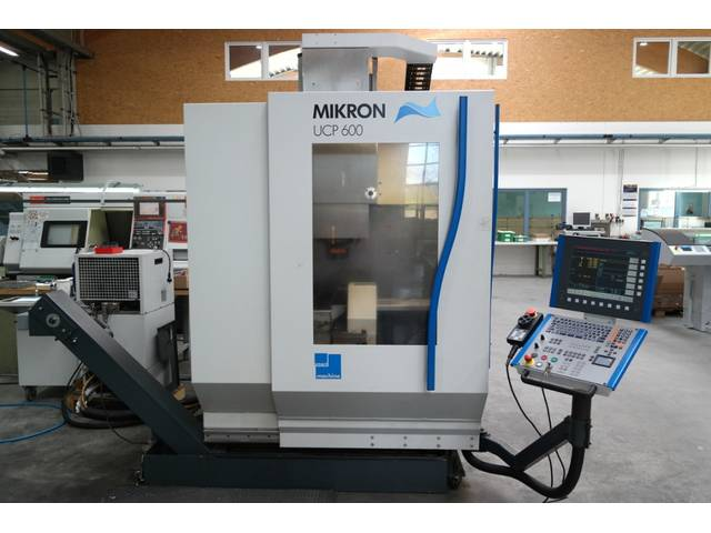více obrázků Fréza Mikron UCP 600, r.v.  2004