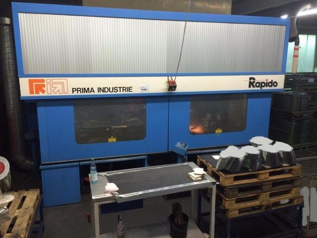 více obrázků Prima Industrie 3D Rapido 5 Laserové vyřezávací systémy