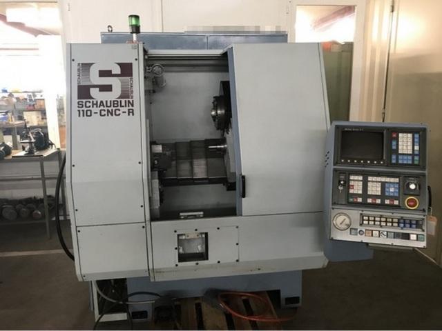 více obrázků Soustruh Schaublin 110 CNC R