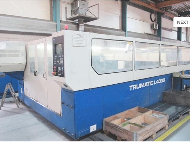 více obrázků Trumpf TCL 4030 - 3000 W Laserové vyřezávací systémy