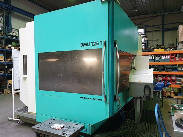 více obrázků Fréza DMG DMU 125 T