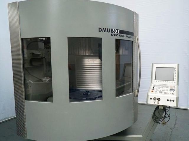 více obrázků Fréza DMG DMU 80 T