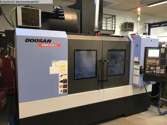 více obrázků Fréza Doosan DNM 650 II