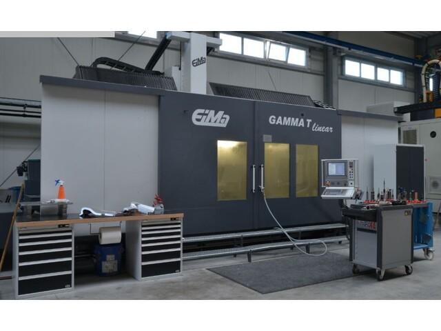 více obrázků EIMA Gamma T linear portálové frézky