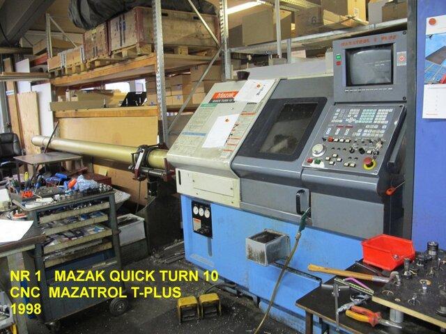 více obrázků Soustruh Mazak QT 10