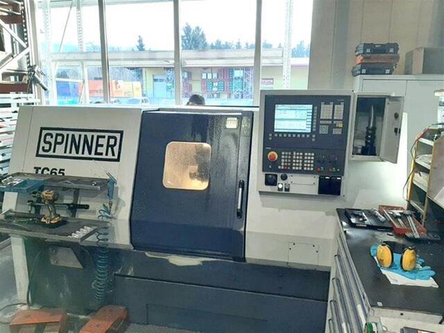 více obrázků Soustruh Spinner TC 65 MC